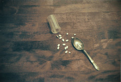 (i'm a witch) Tags: life film breakfast dark spoon scan pills meds sane