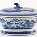 168. Chinese Blue Canton Tureen