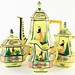 2048. Contemporary Quimper France Tea Set
