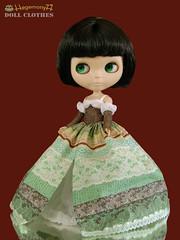 Blythe doll in priceless princess dress