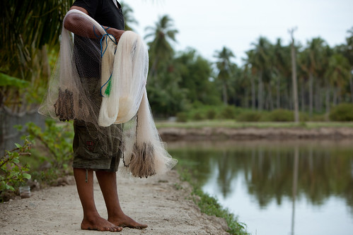 Small-scale fisherman in Aceh. Photo by Mike Lusmore/Duckrabbit, 2012.