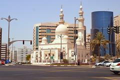 Dubai 2012 – Mosque (Michiel2005) Tags: dubai uae mosque unitedarabemirates deira vae moskee verenigdearabischeemiraten almaktoumroad