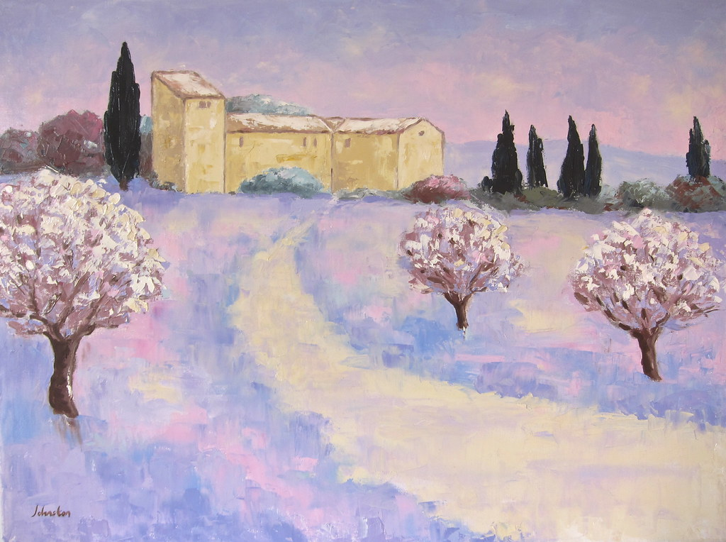 The World S Newest Photos By Paysage Provence Peinture