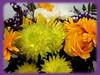 Happy week-end my flickr friends!!!!!! (sev83) Tags: friends orange flower nature fleur rose yellow garden happy flickr weekend saturday august bouquet 2012 100commentgroup