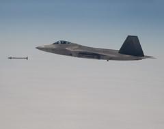 First Raptor Supersonic AIM-9X Launch (Lockheed Martin) Tags: aircraft jet raptor stealth f22 lockheed lockheedmartin