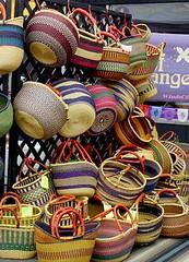 a tisket a tasket including a yellow basket (ve7da) Tags: basket many colorfull tisket tasket