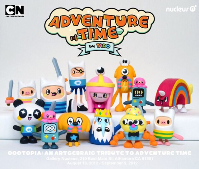 TADO x 探險活寶 AN ARTGEBRAIC TRIBUTE TO ADVENTURE TIME