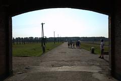 'Entrance' to Birkenau