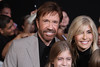 Chuck Norris with his wife Gena at the Los Angeles Premiere of The Expendables 2 at Grauman's Chinese Theatre. Hollywood, California