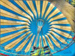 Sony center (Uxo R (Fuera de onda)) Tags: berlin deutschland march sony potsdamerplatz sonycenter alemania marzo mrz hdr awnings 2012 berln lonas markisen tarpaulins toldos planen uxio flickraward ringexcellence dblringexcellence tplringexcellence eltringexcellence