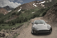 Aston Martin V12 Vanquish (Zachary Koontz Photography) Tags: road sports car composite canon colorado martin offroad background before off trail exotic swap 7d after british coupe aston 2012 v12 vanquish t2i