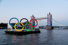 (Valerio Soncini) Tags: bridge london tower towerbridge flickr rings olympia olimpic london2012 olympicrings olymicgames
