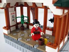 Japanese Teahouse! (Lego.Skrytsson) Tags: japan lego ninja creation teahouse moc