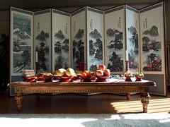 Chuseok Table (EmreKanik) Tags: food lensbaby table korea southkorea chuseok tumblr