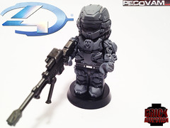 Spartan Warrior-4 (pecovam) Tags: brick lego 4 halo warrior custom affliction spartan pecovam