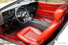 1978 Maserati Merak SS interior (ClassicarGarage / Marc Vorgers) Tags: red rot classic leather rouge pix interior interieur sony ss 1600 marc service 1978 rood maserati leder slt retina altena merak cuir ipad a55 vorgers classicargarage sal1650ssm