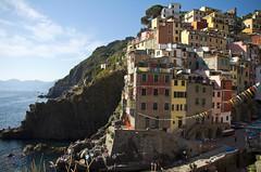 Cinque Terre, Italy (Oddition) Tags: world sea summer italy sun heritage beach nature canon landscape site seaside italia postcard liguria terre benny cinqueterre olivier cinque 2012 60d tamron1750mm28vc