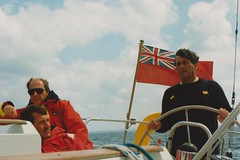 Armada Cup 1994 (Marklucylockett) Tags: heartbeat mg335 sailing yachtracing plymouthsansebastian 30thjuly14thaugust1994 1994 marklucylockett olympusom10 scanned plymouthsansebastianplymouth armardacup race