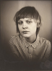 Ira (NooFZz) Tags: portrait bw 9x12 photographicpaper paperpositive bulldog4x5