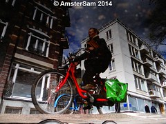 ...Riders (AmsterSam - The Wicked Reflectah) Tags: holland reflection water netherlands amsterdam bike puddle spring europe wicked nophotoshop lifeisgood carpediem unedited waterreflections 2014 stadsarchief amstersam reflectah amstersm amsterdamthebestcityintheworld reflectionsofamsterdam checkoutmywebsitewwwamstersamcom wickedreflections puddlepictures sonyhx1 thewickedreflectah amstersmthewickedreflectah