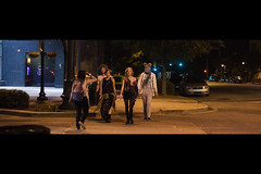 Babes in Pursuit (JawshBeavz) Tags: joshbeavers columbia south carolina crosswalk anamorphic aspectratio stock stockphotography image sale sell purchase copyright singleuse