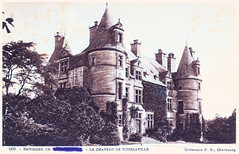Tourlaville - Chateau (pepandtim) Tags: old france castle history gardens early fishing woods war view sale postcard wwi great lakes parks security pb daily collection nostalgia giveaway rivers views april nostalgic historical shooting francois chateau rue 1914 1918 pamphlet visited erased cherbourg vielle tourlaville seafarms lenavettier 45cdt54