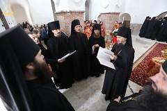 27. Paschal Prayer Service in Svyatogorsk / Пасхальный молебен в соборном храме г. Святогорска