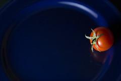 Negative cherry tomato (haqiqimeraat) Tags: cherry tomato composition negative nikon 2485 flashphotography flash vegetables food