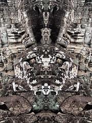 P5210456 (dbillian) Tags: abstract temple cambodia tomb surreal siem reap thom angkor bayon raider