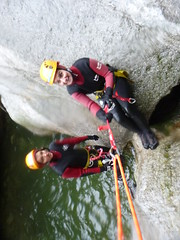P1120384 (Mountain Sports Alpinschule) Tags: blue mountain sports lagoon canyoning zillertal zemmschlucht alpinschule