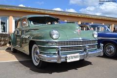 Chrysler Windsor 1948 (Monde-Auto) Tags: auto france automobile windsor courtenay chrysler coup verte rassemblement