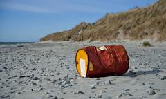 Retired (Anders_3) Tags: beach norway norge northsea rogaland orre oilbarrel klepp orrestranden jrstrendene nikond700