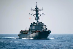160506-N-EH218-242 (U.S. Pacific Fleet) Tags: ocean usa pacific mob pacificocean cruiser underway deployment 2016 ussmobilebay cg53 7thfleet