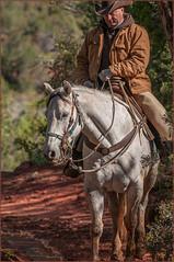 Zion Cowboy (TT_MAC) Tags: cowboy zionnationalpark trailriding horseandrider westernrider utahusa
