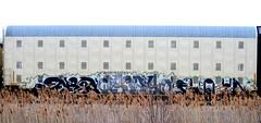 enron -- (timetomakethepasta) Tags: train graffiti dtm freight mdr enron autorack aok