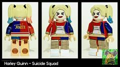Harley Quinn_00000 (Minifigure Maniacs) Tags: lego suicide harley batman quinn minifig squad custom minifigure
