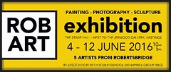 Robart Exhibition (PrivatePit) Tags: hastings stade exhibition art sale