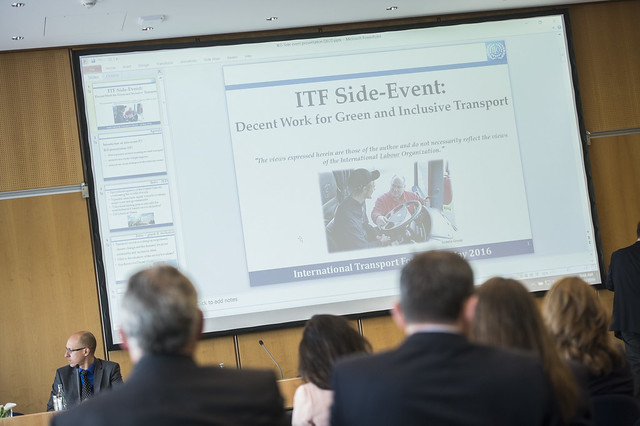 ITF Side Event presentation