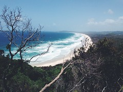 Once (FlavioSarescia) Tags: ocean travel sea sky sun nature water sunshine landscape australia byronbay downunder iphone