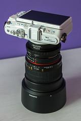 My new toy... (Juaberna) Tags: camera 14 85mm olympus ae cmaras samyang mirrorless epl6