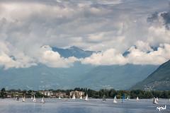 20160604 - Lago Maggiore (LOW) 05 (DAVIDE SPAGNA SPD) Tags: lake lago nikon nuvole barche d750 maggiore davide numb spagna 2470mm vele tamaron