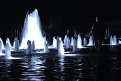Night Flow (petejam70) Tags: canada water fountain night vancouver queenelizabeth