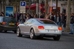 Spotting 2011 - Bentley Continental GT (Deux-Chevrons.com) Tags: auto street paris france car sport automobile continental spot voiture exotic coche spotted gt rue luxury supercar bentley spotting exotics sportcar prestige bentleycontinentalgt continentalgt croise