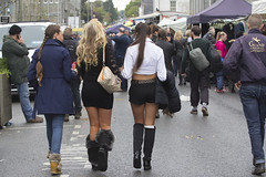 Those boots were made for walkin' (Frank Fullard) Tags: street people horse walking walk candid fair ballinasloe fullard frankfullard