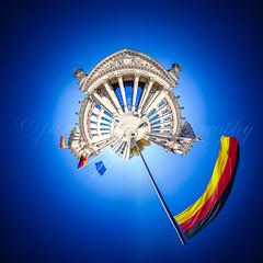 Reichstag (pure:passion:photography) Tags: panorama berlin photoshop photography reichstag passion tageslicht pure brandenburg sehenswrdigkeit kugelpanorama sehenswert purepassionphotography