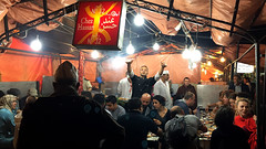 Popup Food in Jamaa el-Fna (macloo) Tags: food morocco marrakech hawkers jamaaelfna