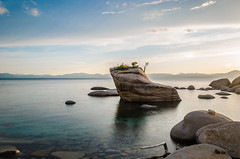 Bonsai Rock (naveencseceg) Tags: california lake nikon weekend tahoe laketahoe roadtrip filter nd bonsai longweekend neutraldensity bonsairock nikond5100