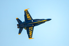 218A7129 (W.L.M.II) Tags: hornet f18 usnavy fa18 fa18hornet navalaviators theblueangels spiritofstlouisairshowstemexpomay2016