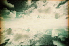 IMG_0014 (spoeka) Tags: lomo lomography analog analogue 5mm kb dia slide xpro lcwide panorama kodakelitechromeed200 uk england brighton mx mehrfachbelichtung wolken clouds sea meer strand beach