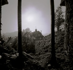 black sun (sowhat63) Tags: sun black lens pinhole schloss effect without tbingen sabattier solarisation lensfree